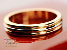 CARTIER LA BAGUE ALLIANCE TRINITY RING / TRAURING 18K TRICOLOR GOLD WEDDING BAND