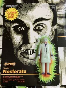 Super7  Nosferatu Glow In The Dark  ReAction Action Figure In Stock