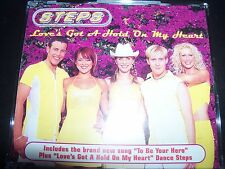Steps Love's Got A Hold On My Heart Australian CD Single – Like New