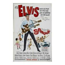Spin out Elvis Presley Wall Poster Art 12x18 Free Shipping