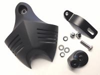 CLAXON Revêtement Noir corne COUVERTURE F.HARLEY-DAVIDSON V Twin Cam style EVO