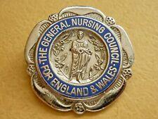 More details for vintage badge general nursing council england & wales r.n.m.s. mental nurse