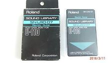 Roland SN-U110-07 Sound Library Electric Guitar PCM Data Rom Card