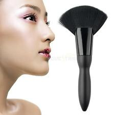 Fan Shape Makeup Cosmetic Brush Blending Highlighter Contour Face Powder Brush