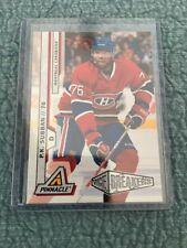 10-11 Pinnacle Ice Breakers P.K. Subban Rookie Hockey Card #218