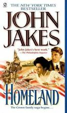 Homeland paperbook book John Jakes FREE SHIPPING American immigrant experience