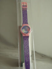 Sleeping Beauty Pink/Purple Hologram watch, New in Package