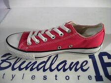 068 SCARPE CONVERSE CT AS BASSE OX CANVAS CORE  ROSSO X/M9696 EUR 43 UK 9.5