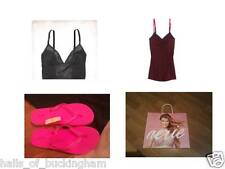 NWT aerie AE 5pc Gift Set 2 Brand NEW Tank Tops Pink FlipFlops Tissue AEO Bag