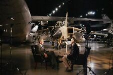 President George W. Bush & Bill O'Reilly Interview, Air Force Museum -- Postcard