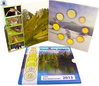 Slowakei 3,88 € 2013 Stgl KMS 1 Cent bis 2 Euro Byzantinische Mission Sondersatz