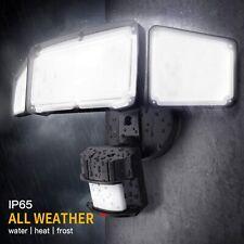 New listing 3 Head Led Security Lights Motion Sensor Outdoor Adjustable 30W,Super Brightness