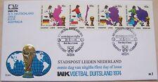 Stadspost Leiden - FDC WK Voetbal, Football 1974 in Duitsland (1)