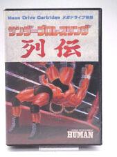 Mega Drive-Thunder Pro Wrestling Retsuden (NTSC-jp import) (con embalaje original) 10830758