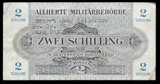 New ListingWorld Paper Money - Austria 2 Schilling 1944 Mpc Military Payment @ Vg Graffity