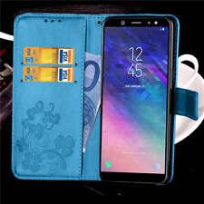 Handy Tasche Für Samsung A6 / A6 Plus 2018 Flip Cover Case Schutz Hülle Wallet