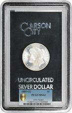 1885-CC $1 PCGS/GSA MS64 (Box and COA) - Morgan Silver Dollar