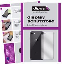 2x Apple iPhone 8 Rueckseite Schutzfolie klar Displayschutzfolie Folie Display