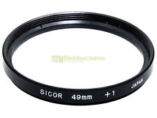 49mm. aggiuntivo macro +1 diottrie Sicor. Close up.
