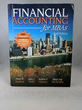 Financial Accounting for MBA's Sixth Edition Hardcover Very Good