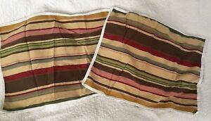 Pottery Barn Pillow Covers (2)  **EUC**