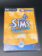 Rare GERMAN The SIMS die Sims Urlaub Total - Vacation Total - PC Game NEW Sealed