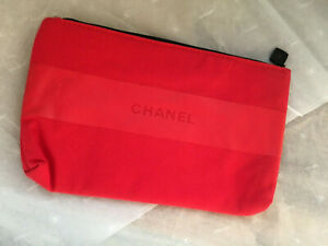 AUTH Chanel Makeup bag pouch cosmetic bag