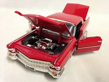"""1963 Cadillac Hot Top Series 62 Collectible 9.5"""" Diecast Metals 1:24 Jada Toy RD"""