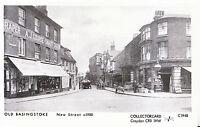 Hampshire Postcard - Old Basingstoke, New Street c1900 - Pamlin Prints    5110