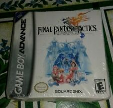 NEW Final Fantasy Tactics Advance Factory H Sealed Nintendo Game Boy GBA