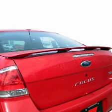 """PAINTED """"MATTE BLACK"""" MTB REAR SPOILER WING for FORD FOCUS 2008-2011 2DR & 4DR"""
