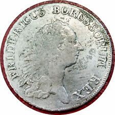 GERMANY ~ PRUSSIA 1771 THALER OF FREDERICK THE GREAT ~ NICE GRADE SOME LUSTER !