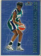 WNBA -WOMEN'S BASKETBALL CARD - HOOPS - BUILDING BLOCKS - TRACY REID - #BB 3/8