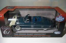 1952 Hudson Hornet  Convertible   Highway 61  1:18 diecast   Broadway Blue   MIB