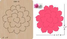 New Flowers wooden die Cutting Dies  Scrapbooking  C-265-15