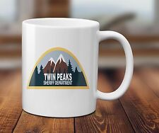 TWIN PEAKS SHERIFF DEPT AGENT COOPER tea coffee mug cup - Ceramic 320ml