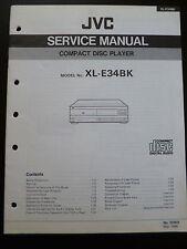 Original Service Manual JVC  Compact Disc Player XL-E34BK