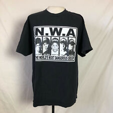 2000s N.W.A NWA The Worlds Most Dangerous Group T-Shirt XL Black Tee Vintage Vtg