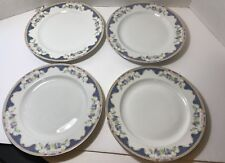 "ROYAL BAYREUTH china CORONA Patt. Dinner Plates 9 7/8"" Made in Bavaria Lot of 4"