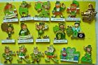 Lions Club Pins - Leprechauns Galore Get your Irish lucky charms (17 Pins)