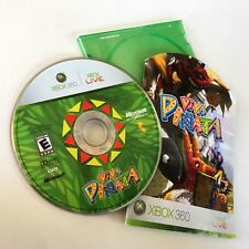 VIVA PINATA 1 for the XBOX 360 Sim Kid ORIGINAL GAME 1st PIÑATA I CD DISC+MANUAL