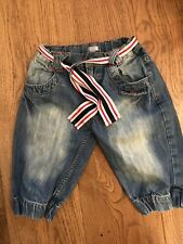 Girls Funky Diva  Jeans  Trousers, Age 4-5 Yrs, Adjustable Waist, Waist Band