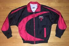 Vintage 90s Chicago Bulls NBA Official Fan Windbreaker Jacket Youth XL