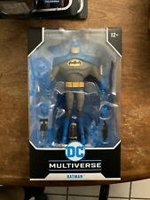 Mcfarlane DC Multiverse BLUE BATMAN Variant Figure IN HAND Animated Series CHASE