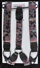 RARE Alexander Kabbaz Handmade Silk Braces/Suspenders