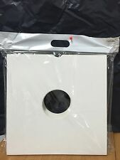 50 x 12'' Vinyl WHITE Card Record LP Sleeves Album Covers High Quality