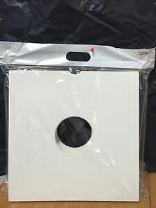 25 x 12'' Vinyl WHITE Card Record LP Sleeves Album Covers High Quality