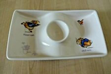 Wedgwood Peter Rabbit Ceramic Egg Cup Plate Dish