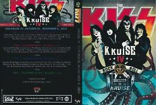 DVD  LIVE KISS KRUISE 4   ..............           FOUR DVD    rock metal