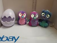 Spin Master Hatchimals Penguala Interactive Draggle (Lot of 3) - Fast Shipping